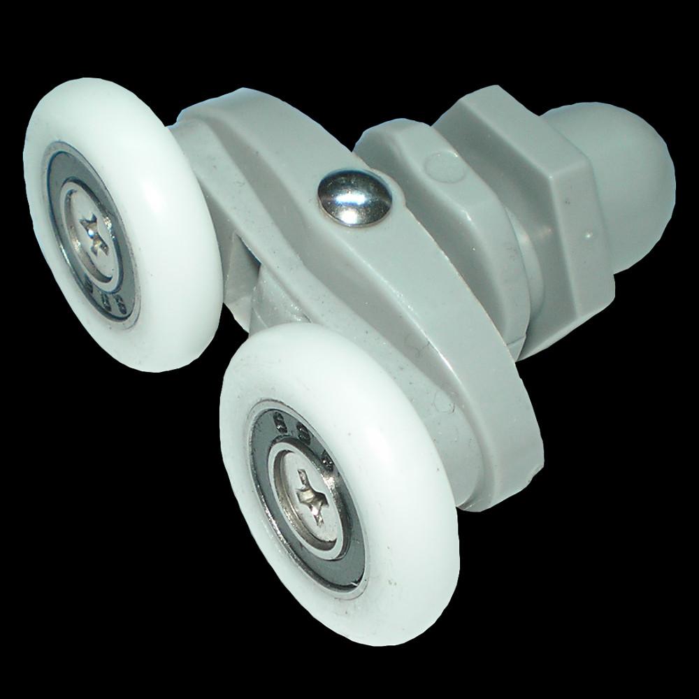 Roulette pour porte de douche cartouche pour mitigeur et - Roulettes pour portes coulissantes cabinee de douche ...
